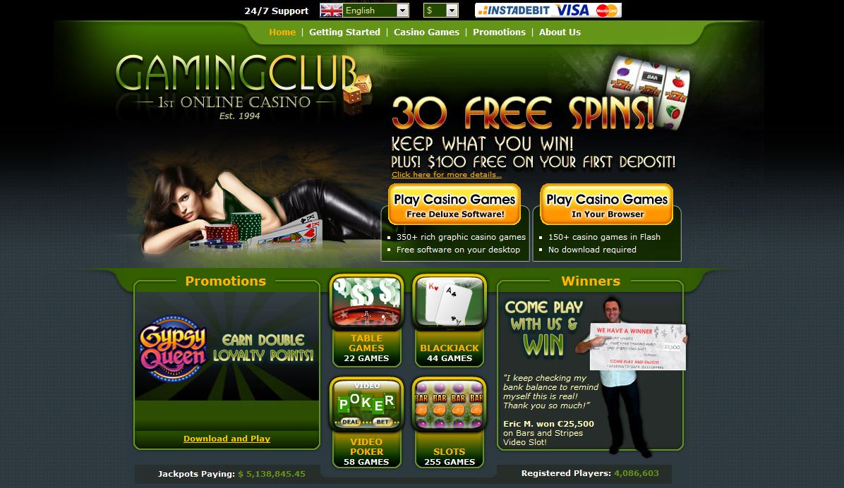 gaming club casino org download