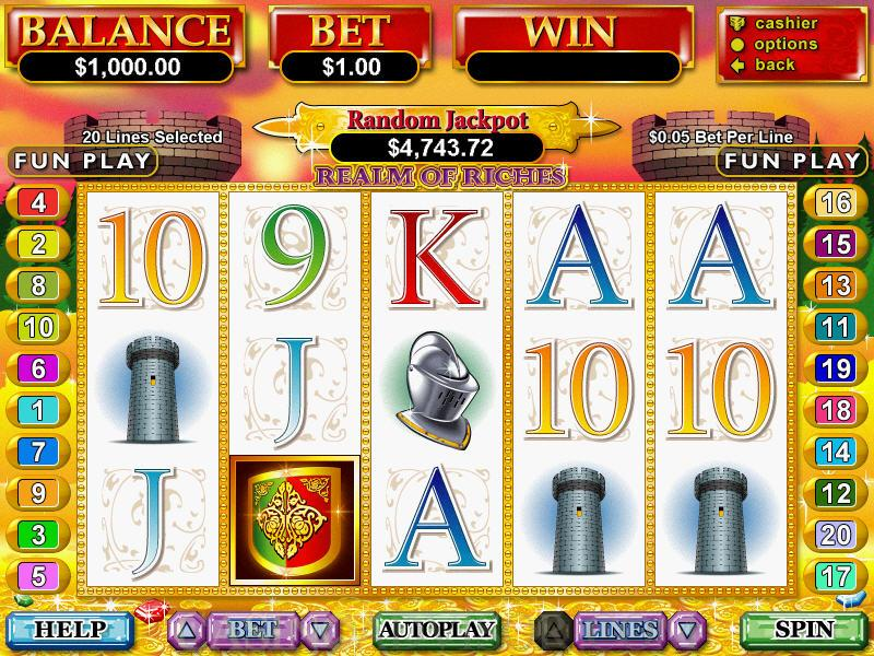 Vegas Casino Lobby